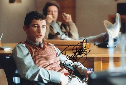 Lee Evans, actor and comedian, signed 12x8 inch photo.
